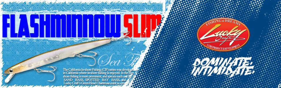 Lucky Craft SW Flash Minnow Slim