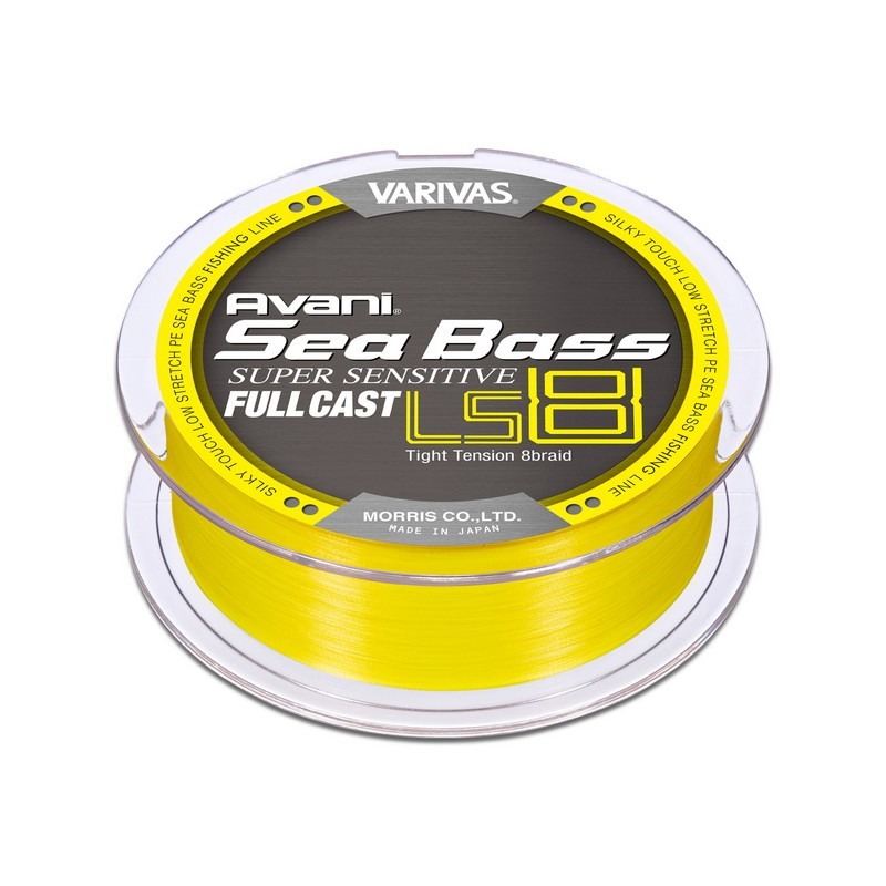Varivas Avani Seabass PE Super Sensitive LS8 Full Cast