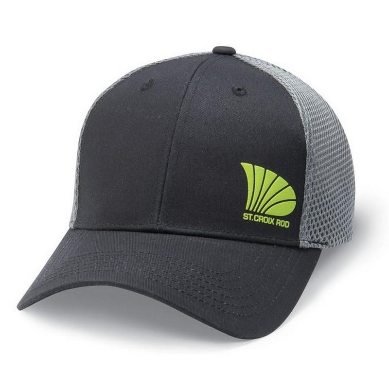 St. Croix Cappello Offset Logo Trucker Cap