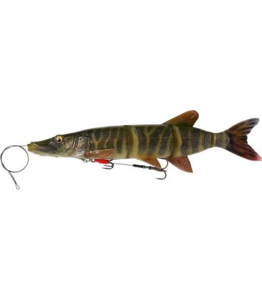 Savage Gear 4D Line Thru Pike - 01 Striped Pike