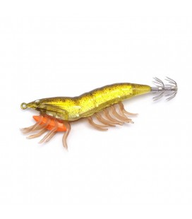 Savage Gear Hybrid Shrimp Egi Jig - 01 Olive Flash