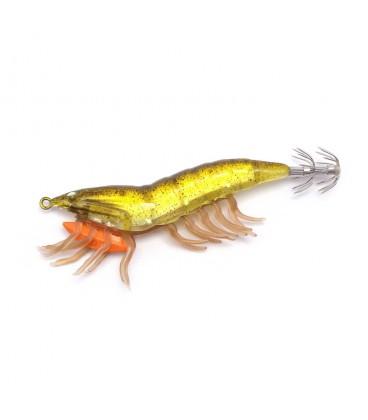 Savage Gear Hybrid Shrimp Egi Jig - 01 Olive Flash