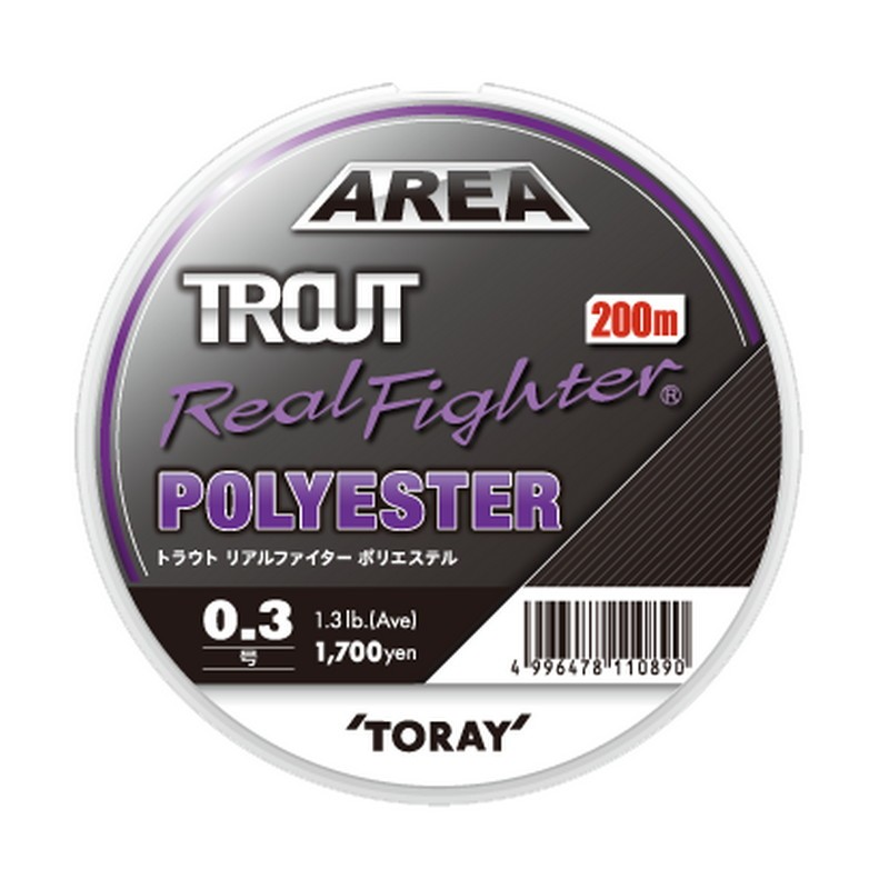 Toray Area Trout Real Fighter Polyester