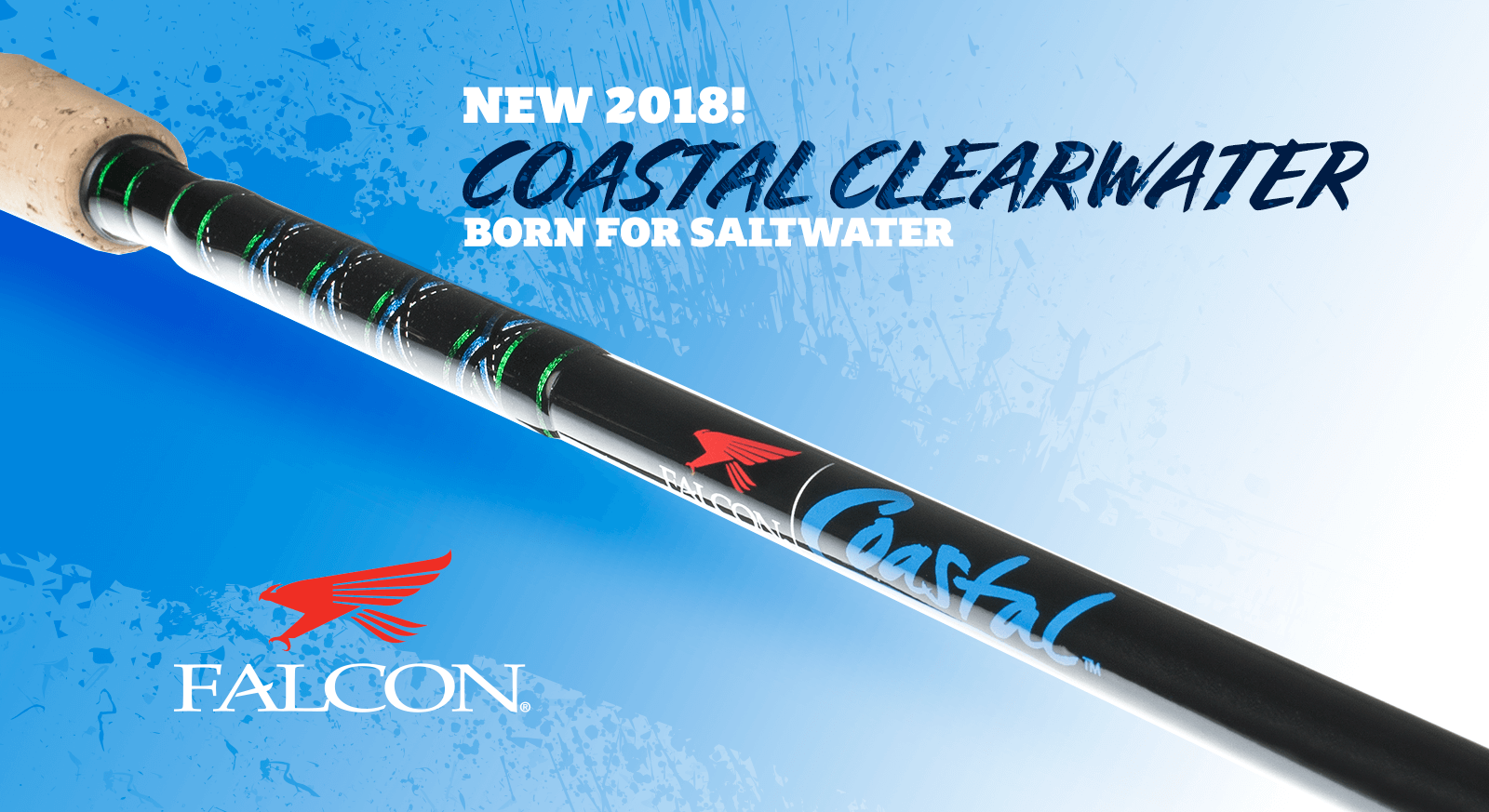 Falcon Coastal CW Spinning Rods