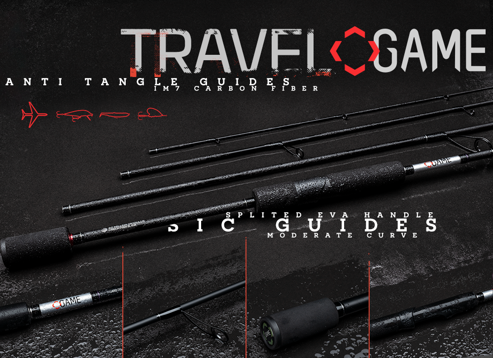 Game by Laboratorio Travel Game rods